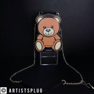 Handbags - VEGAN! 🥀 RAVE TEDDY BEAR CROSSBODY BAG